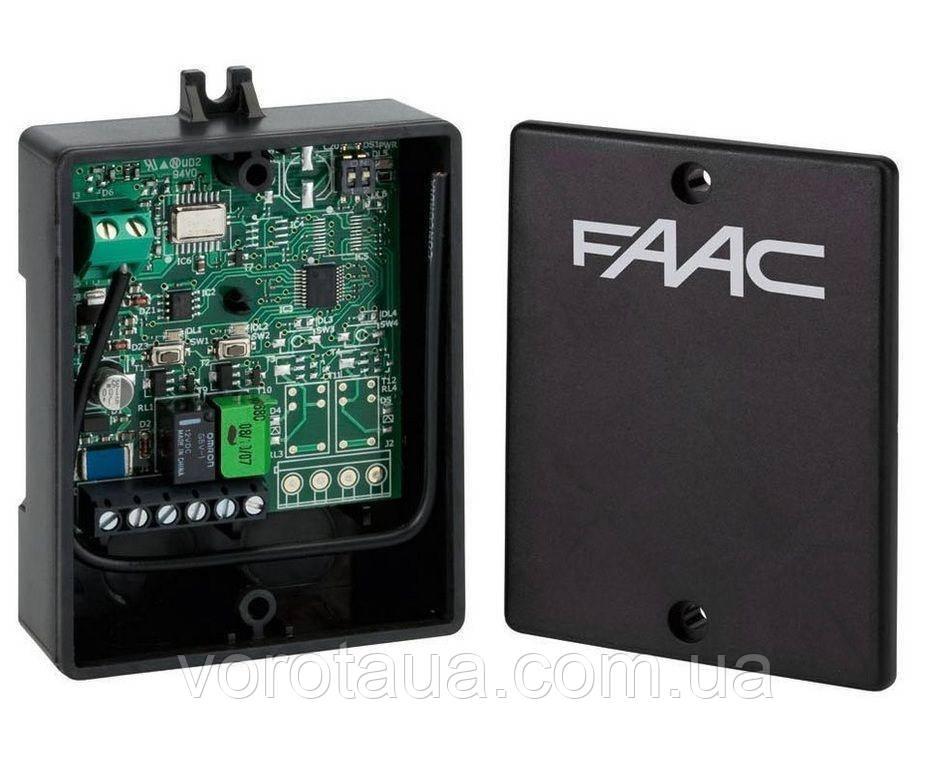 Зовнішній приймач FAAC 2х канальний