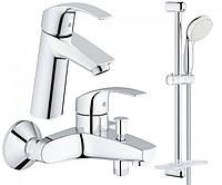 Набор смесителей для ванной M-size Grohe EuroSmart 123246M
