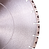 Круг алмазный отрезной ADTnS 1A1RSS/C3-H 350x3,5/2,5x10x25,4-24 F4 CHG 350/25,4 RM-W, фото 4