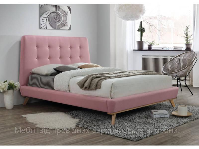 Кровать розовая Dona 160х200