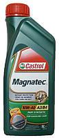 Моторное масло полусинтетическое Castrol (Кастрол) Magnatec 10w40 1л