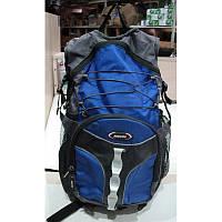 Велосипедный рюкзак с ортопедической спинкой. Цвет синий