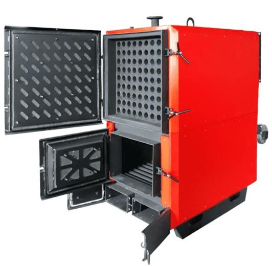 Опалювальний твердопаливний котел тривалого горіння Bulat PRO - 95 (Булат ПРО)