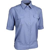 Рубашка шведка форменная голубая