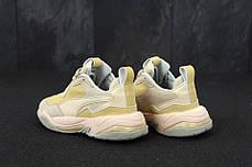 Кроссовки женские бежевые Puma топ реплика, фото 3