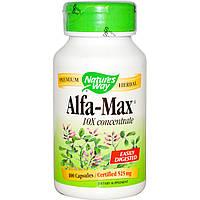 Люцерна Alfalfa-Max (концентрат) 525 мг 100 капс витамины минералы  Nature's Way USA