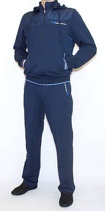 Мужской спортивный костюм с капюшоном AVIC 3757 (L-XXXL) L, фото 2