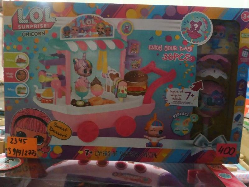 Игровой набор LOL  (Hight Copy) фабрика мороженого 2345