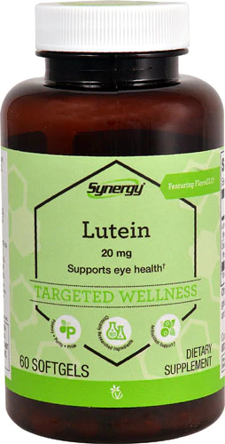 Лютеин с зеаксантином, Vitacost,  Lutein with Zeaxanthin, 20 мг, 60 капсул