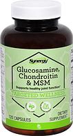 Глюкозамін, хондроїтин та ЧСЧ, Vitacost, Glucosamine Chondroitin & MSM 120 капсул