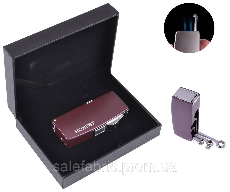 Зажигалка для сигар в подарочной упаковке Honest (Острое пламя) №3008-3
