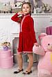 Платье МИЛА ОПМ 2051 красный, фото 3