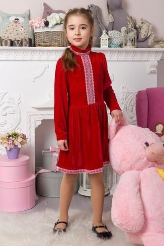 Платье МИЛА ОПМ 2051 красный