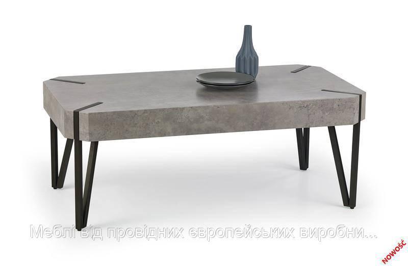Стол EMILY (темный бетон) (Halmar)