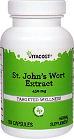 Зверобой, экстракт, Vitacost, St. John's Wort Extract, 450 мг, 90 капсул