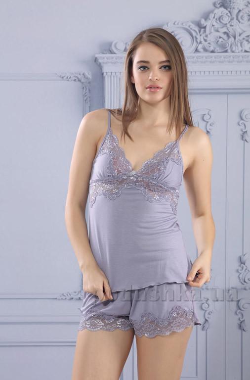 3b21096e794c Комплект женский для сна и отдыха Mariposa 7226 lavander (шорты, майка)