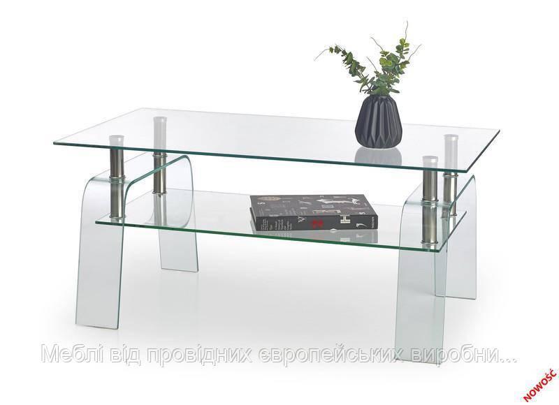 Стол NAOMI (прозрачный) (Halmar)