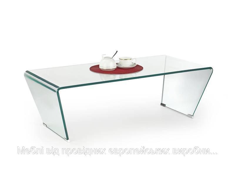 Стол OLIMPIA (прозрачный) (Halmar)