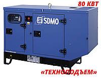 Аренда дизельного генератора 80 кВт | аренда электростанции  SDMO J110K, фото 1