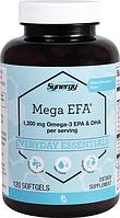 Омега 3 ЭПК и ДГК, Vitacost, Omega-3 EPA & DHA, 1200 мг, 120 капсул