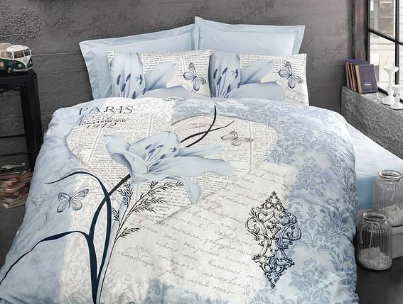 Постельное белье Arte bella blue, ранфорс ТМ Идея полуторный, фото 2