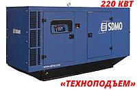 Аренда дизельного генератора 218 кВт | аренда электростанции  SDMO J300K, фото 1