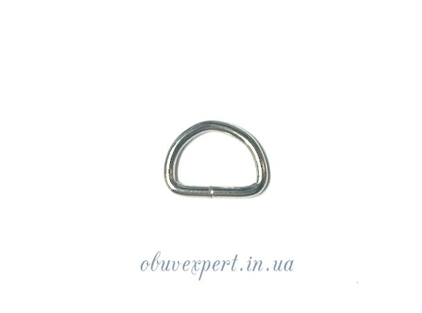 Полукольцо  проволочное 9,5*6,5 мм, толщ. 1,5 мм мобильное Никель (10 шт)