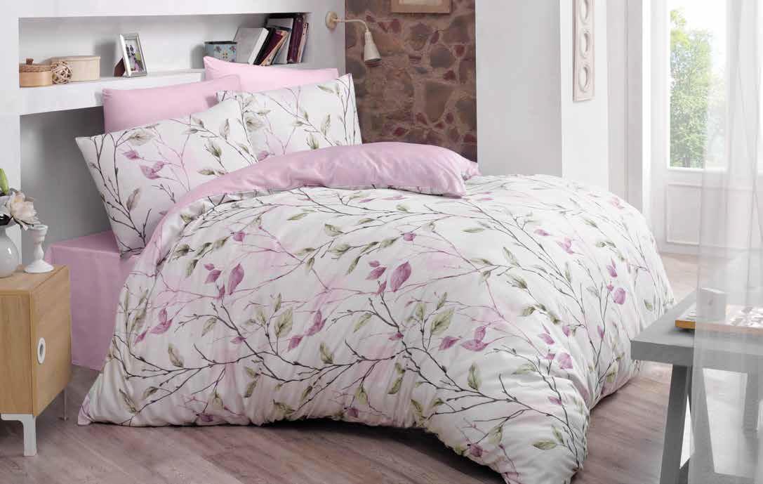 Постельное белье Blosom pink, ранфорс ТМ Идея полуторный