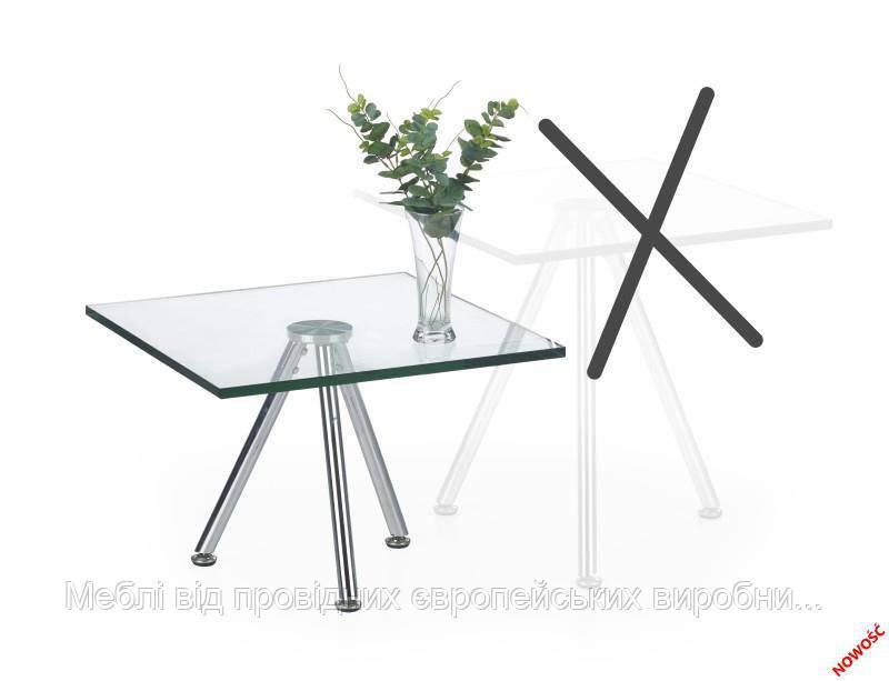 Стол SOLO 1 (прозрачный) (Halmar)