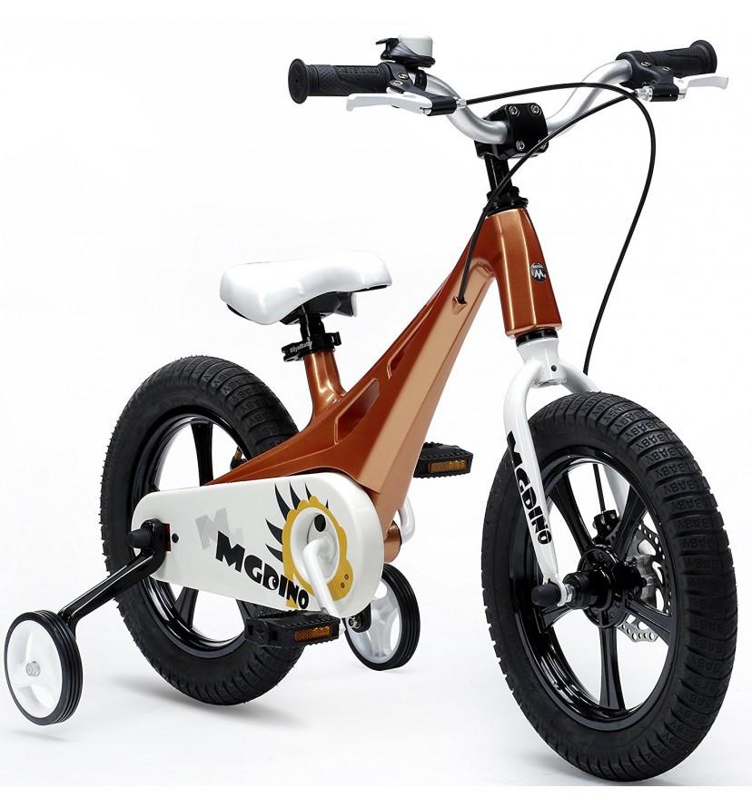"""Велосипед детский Royal Baby MGDINO 14"""" золотой"""