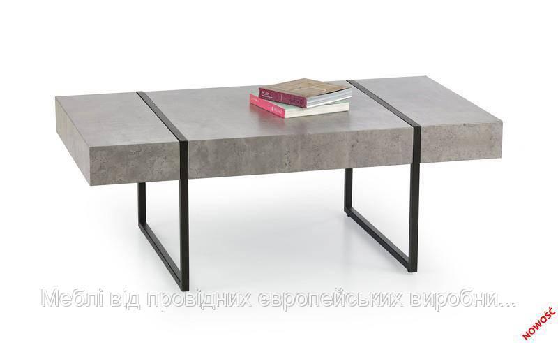 Стол TIFFANY (черный бетон) (Halmar)