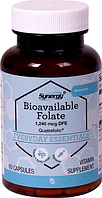 Фолиевая кислота, Vitacost,  Bioavailable Folate, 1240 мкг, 60 капсул