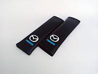Накладка на ремінь безпеки MAZDA BLACK