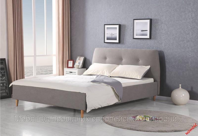 Кровать DORIS (серый) (Halmar)