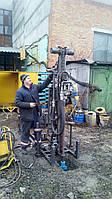 Установка разноугловая буровая для разработки скважин в грунте УРБ-50