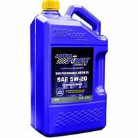 Моторное авто масло Royal Purple API 5w-20 фасовка 4.73л /5 кварт / Royal Purple API motor oil 5W-20 5qt