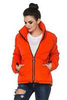 Женская куртка осень-весна Гера оранжевый (44-54)