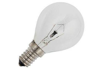 Лампа накаливания Шар 60 Вт Е14 прозрачный