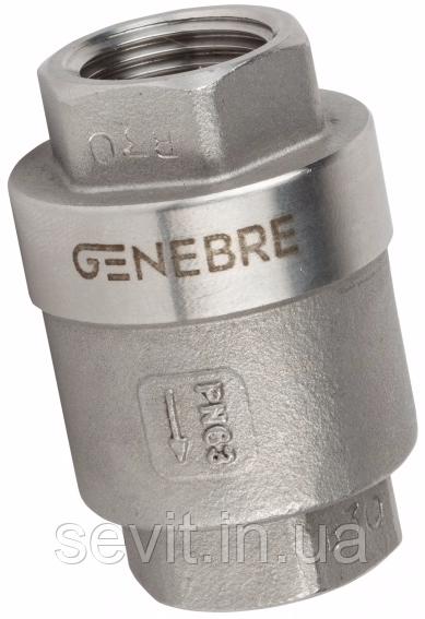 Клапан обратный подпружиненный  Genebre (Испания) тип 2416 03 DN10 PN63 ДУ10 РУ63