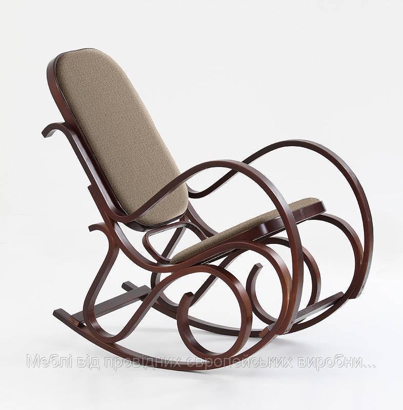 Кресло качалка MAX BIS PLUS (орех) (Halmar)