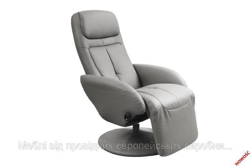 Кресло раскладное OPTIMA  (серый) (Halmar)