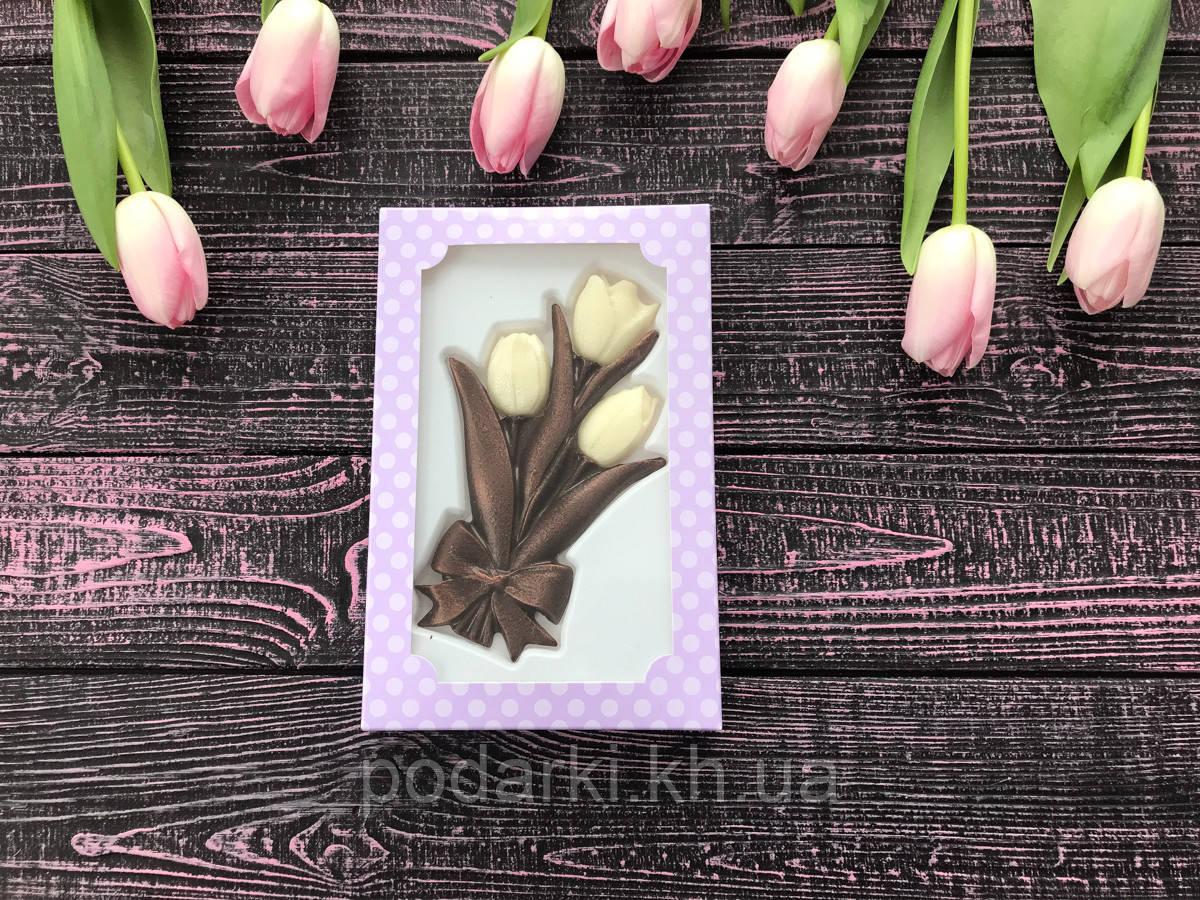 Шоколадные мини-тюльпаны