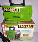 Инверторный сварочный аппарат ProCraft SP-270D + Сварочная маска Форте MC-1000 (хамелеон), фото 5