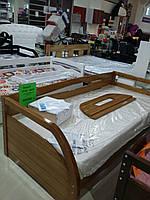 """Кровать подростковая """"Бавария"""" цвет лак"""