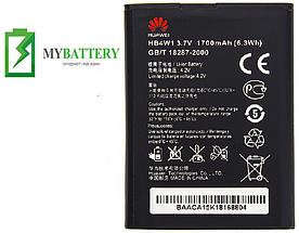 Оригинальный аккумулятор АКБ (Батарея) для Huawei C8813/ G510/ G520/ G525/ H867G/ U8686/ HB4W1 1700mAh 3.7V
