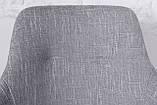 Стул Toledo, светло-серый (рогожка), фото 5