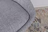 Стул Toledo, светло-серый (рогожка), фото 6