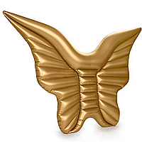 Надувний матрац Modarina Золоті Крила 250 см Золотий PF3077, фото 1