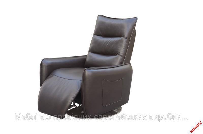 Кресло раскладное ROYAL (коричневый) (Halmar)
