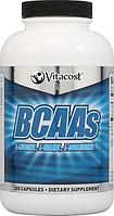 BCAA, Vitacost, BCAAs, 2400 мг, 300 капсул